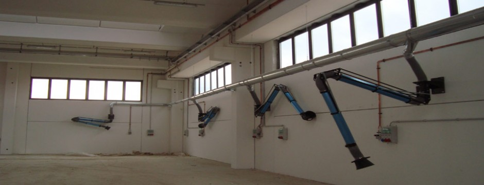 complementi per impianti di aspirazione industriale 2