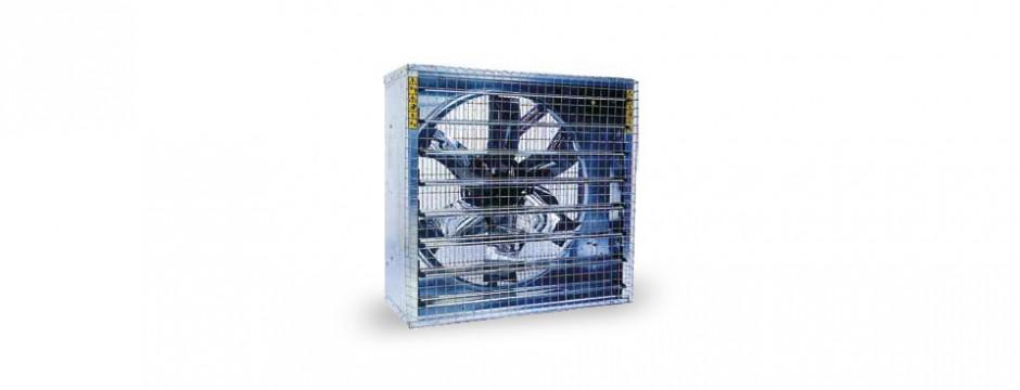 impianto di ventilazione industriale
