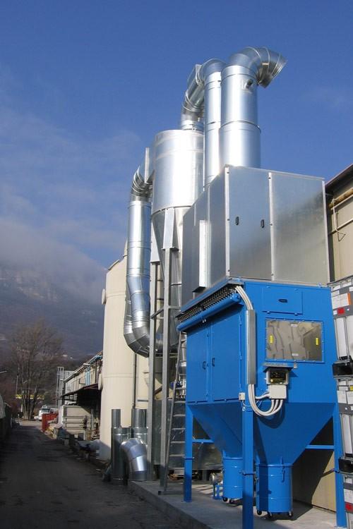 impianto aspirazione industriale atex 6