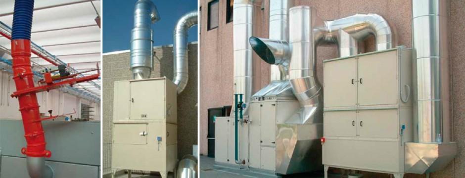 risparmio energetico impianti di aspirazione industriale