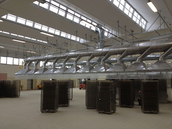 impianto di aspirazione vapore acqueo 1