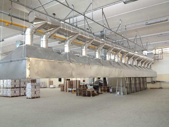 impianto di aspirazione vapore acqueo 3