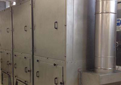 impianto aspirazione fumi di friggitura