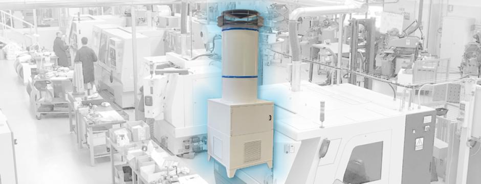 sanificazione aria ambiente di lavoro